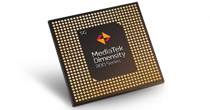 Анонсирован процессор MediaTek Dimensity 800 5G