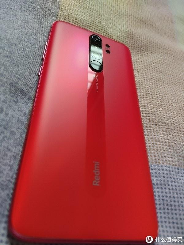 Xiaomi Redmi Note 8 Pro с матовым стеклом на живых фото