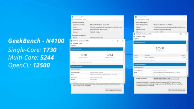 В продажу поступил новый планшет CHUWI Hi10X с Intel N4100