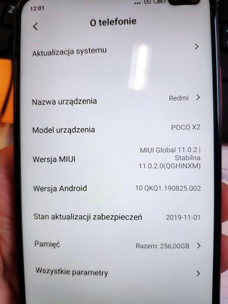 Xiaomi Poco X2 показан вживую, характеристики подтверждены