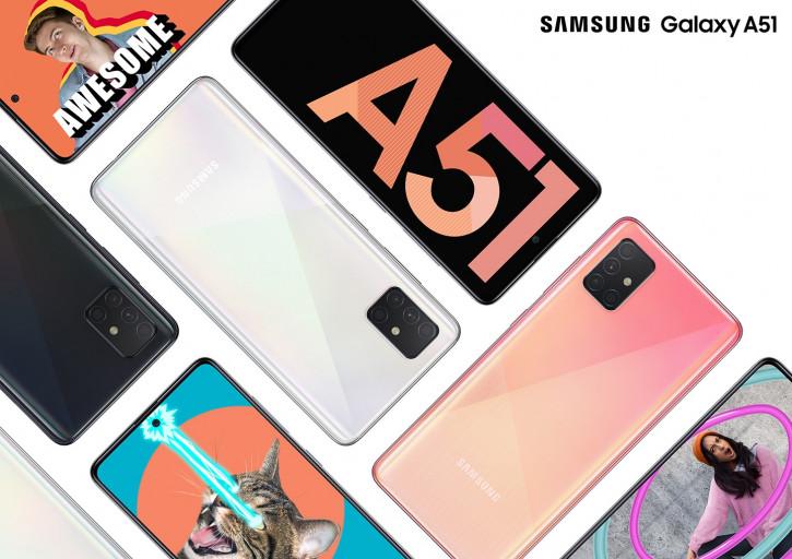 Samsung Galaxy A51 уже в продаже в России: цена, где купить