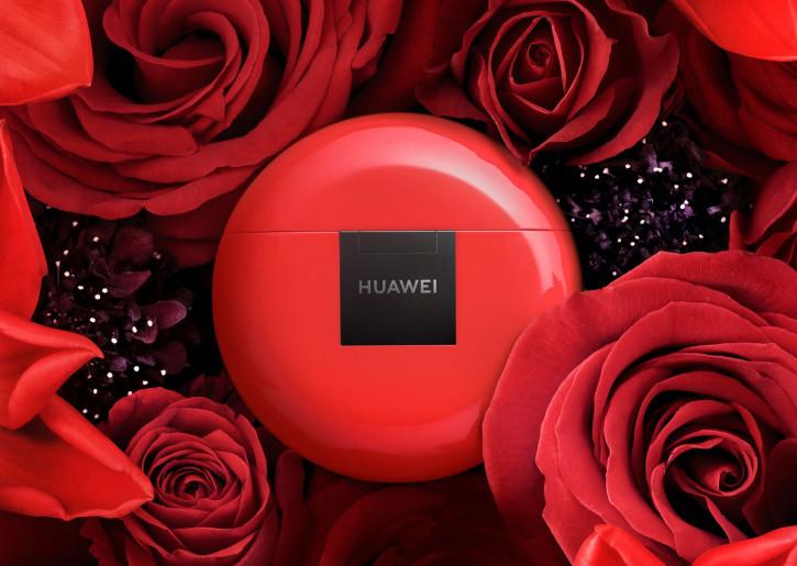 Huawei подготовила P30 Pro и FreeBuds 3 ко Дню Святого Валентина