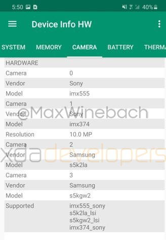 Новые детали по камере Samsung Galaxy S20+ на скриншотах и видео