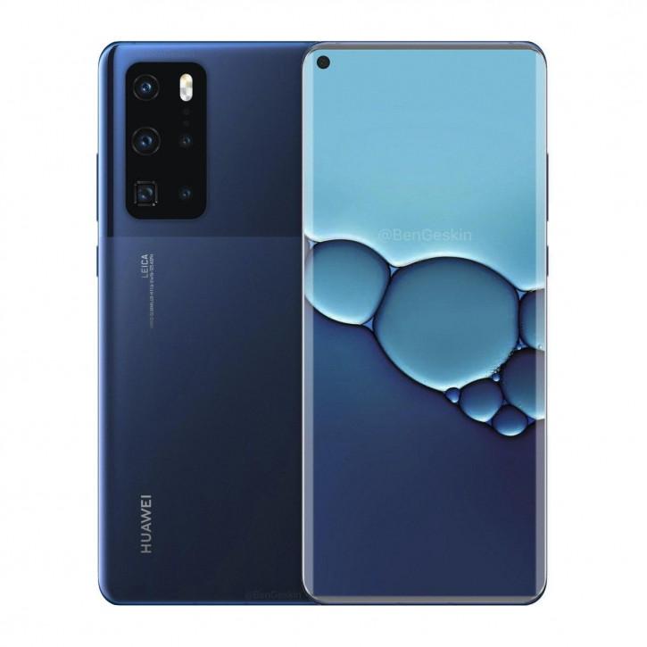 Матовое стекло и монолитный корпус: представлен рендер Huawei P40 Pro