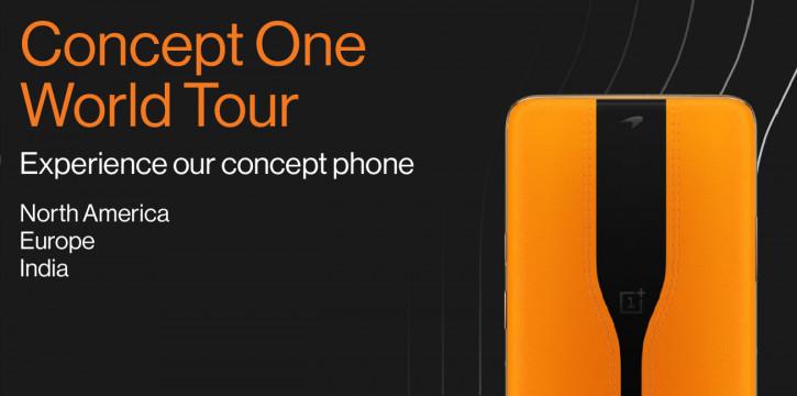 Рок-звезда смартфонов: OnePlus Concept One отправляется в мировой тур