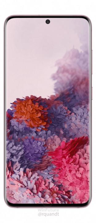 Samsung Galaxy S20 в ранее неизвестной расцветке на пресс-фото