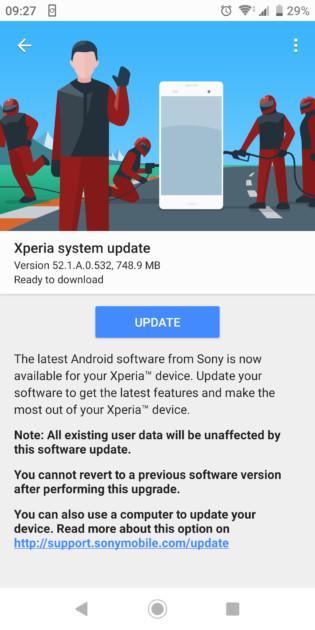 Sony Xperia XZ2, XZ2 Premium, XZ2 Compact и XZ3 получают Android 10