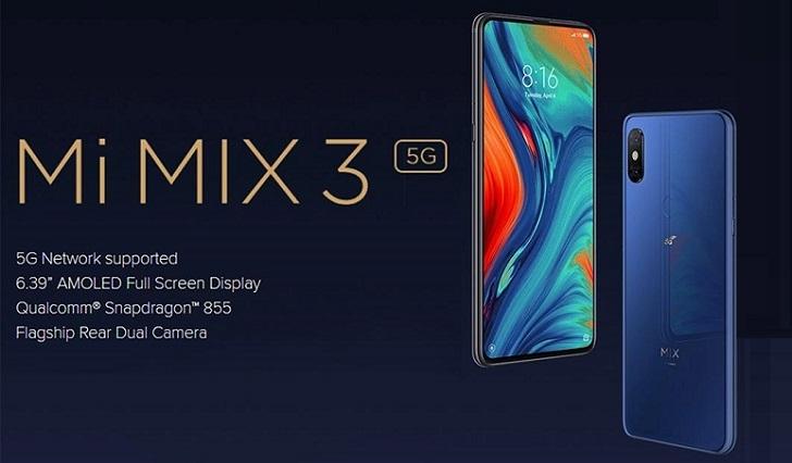 Xiaomi Mi MIX 3 5G на Snapdragon 855 доступен по цене 290 долларов