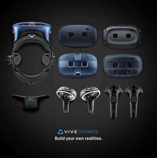 HTC представила новые модели VR-шлемов серии Vive Cosmos