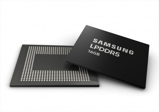 Samsung запустила производство 16-ГБ оперативной памяти для смартфонов