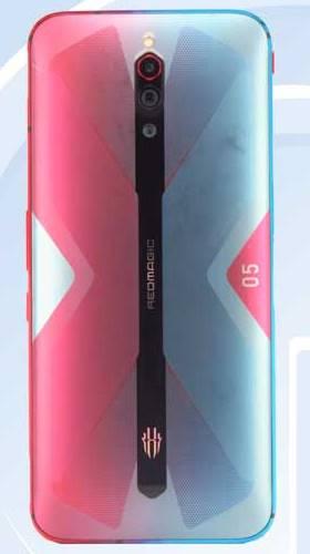 Д-Дизайн. Nubia Red Magic 5G на фото из TENAA