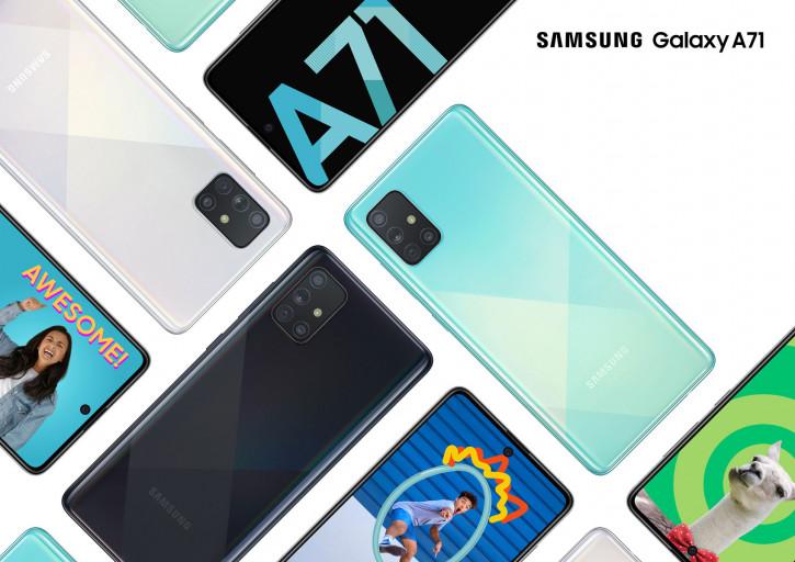 Galaxy A71: лучший середняк Samsung уже в России (цена)