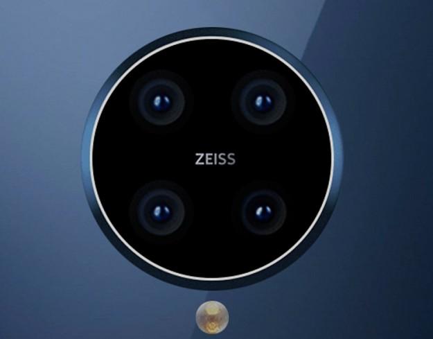 Флагманский смартфон Nokia демонстрирует квадрокамеру Oreo