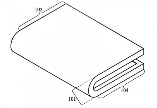 Apple размышляет над смартфоном-книжкой с гибким дисплеем
