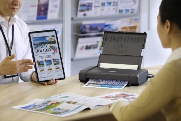 Canon PIXMA TR150 - новый мобильный принтер
