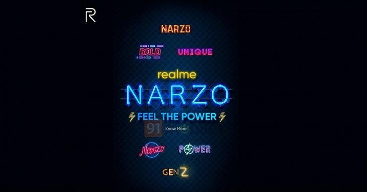 Realme будет выпускать смартфоны Narzo