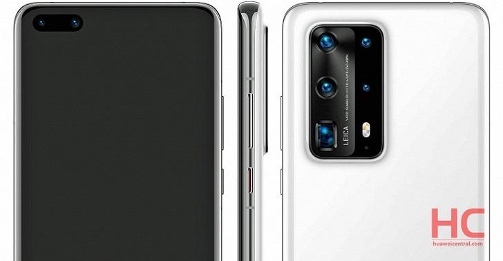 Стали известны характеристики камер Huawei P40 Pro Premium Edition