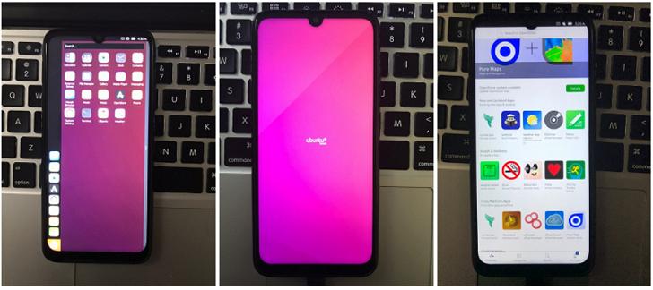 Энтузиаст смог установить Ubuntu Touch на Xiaomi Redmi Note 7