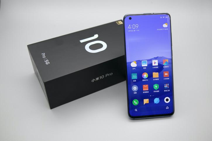 Xiaomi работает над новым изданием Mi 10 с более крутым экраном