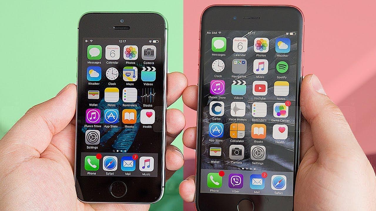 Самые маленькие современные смартфоны - TOP 5