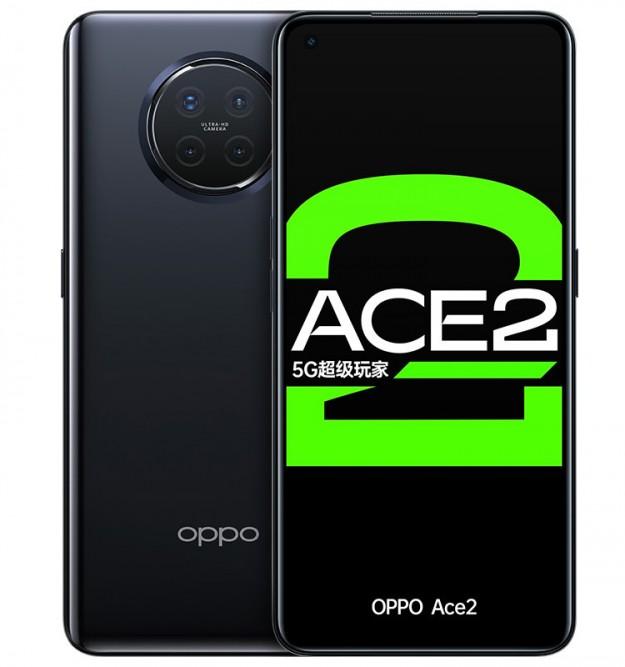 Официальные рендеры демонстрируют смартфон OPPO Reno Ace 2 со всех сторон