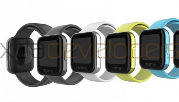 Первые смарт-часы Realme показались на рендерах
