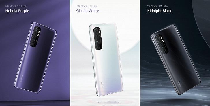Xiaomi Mi Note 10 Lite не переименуют в Mi CC10