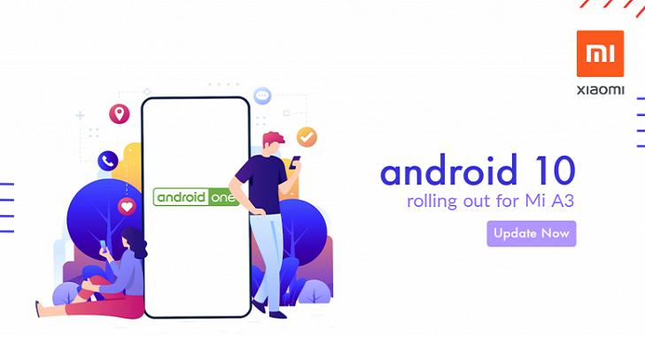 Выпущена ОС Android 10 для Xiaomi Mi A3