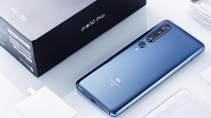 Xiaomi Mi 10 5G возглавил рейтинг самых мощных Android-смартфонов
