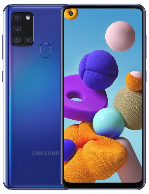 Цена, рендеры и характеристики Samsung Galaxy A21s: дебют Exynos 850