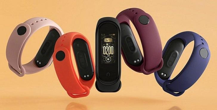Xiaomi представит два новых спортивных браслета