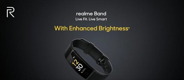 Улучшенный недорогой фитнес-браслет Realme Band поступил в продажу
