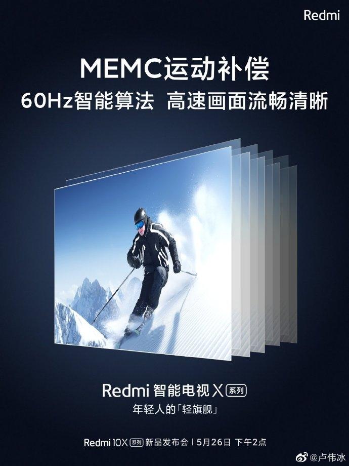 Стали известны особенности телевизоров Xiaomi Redmi X