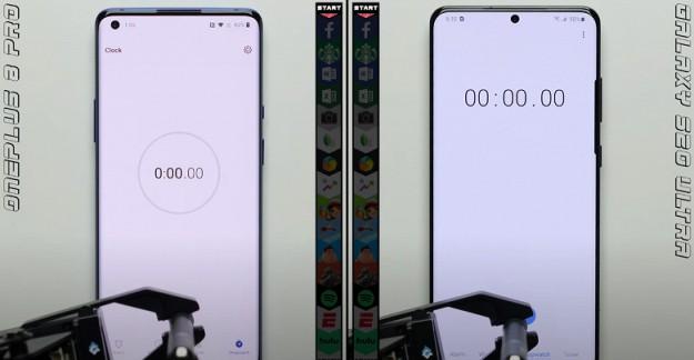 Samsung Galaxy S20 Ultra неожиданно выиграл у OnePlus 8 Pro в тесте на скорость запуска приложений