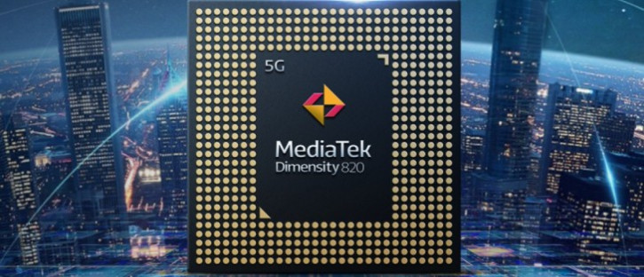 Анонс MediaTek Dimensity 820 - чипсет для Redmi 10X и компании
