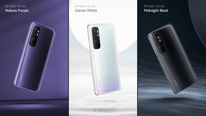 Анонс Xiaomi Mi Note 10 Lite: новая камера, обновленный дизайн
