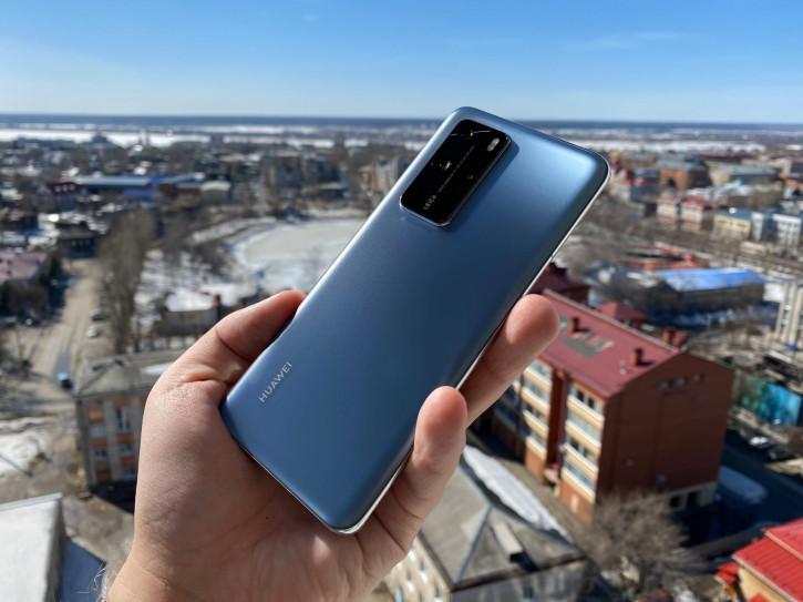 Huawei P40 и P40 Pro со скидкой до 10 000 рублей в М.Видео
