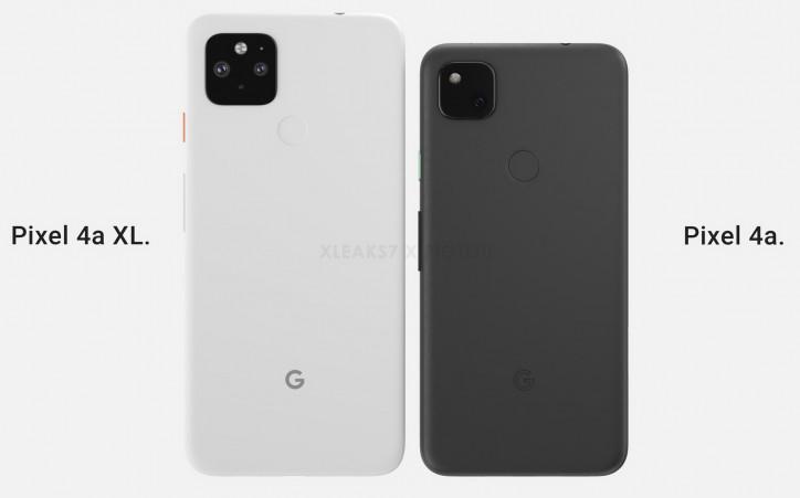 Отмененный Google Pixel 4a XL на подборке рендеров со всех сторон