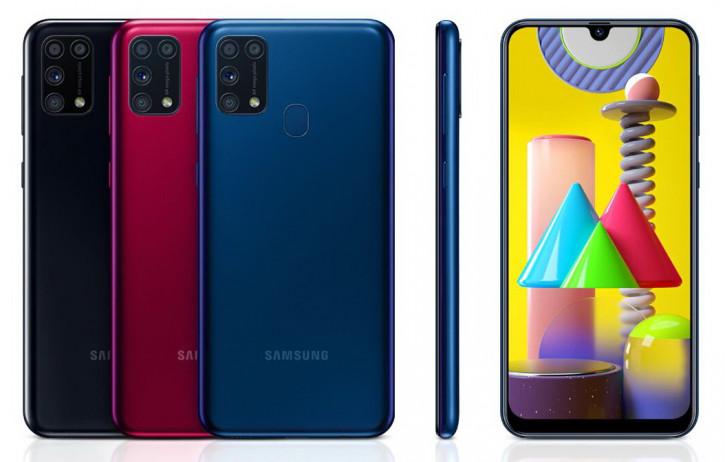 Samsung Galaxy M31 с монструозной батареей уже в России (цена)