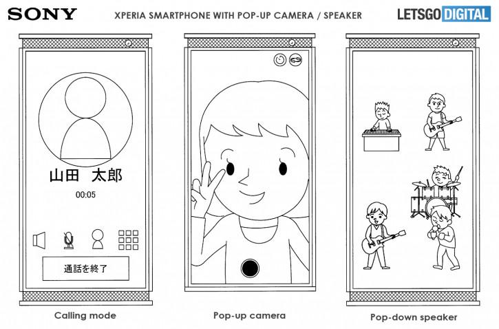 Sony проектирует смартфон Xperia с подвижными гранями