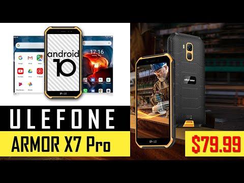 Ulefone Armor X7 Pro - новинка по цене $79.99 на Summer Sale 618 . IP68 Смартфон с NFC на Android 10. Видео анонс