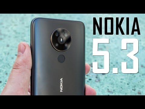 Фанаты оценят! Nokia 5.3 - бюджетный смартфон на Snapdragon, 4 камеры и 4000 мАч. Видео