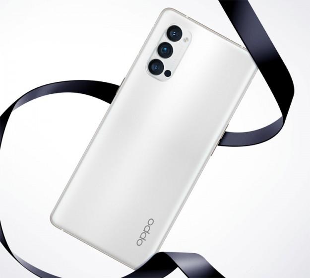 Черный и белый: 5G-смартфон OPPO Reno 4 Pro позирует на рендерах