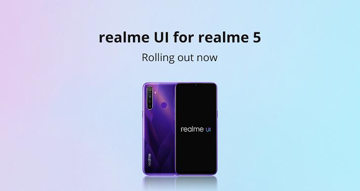 Два смартфона Realme получили прошивку на Android 10