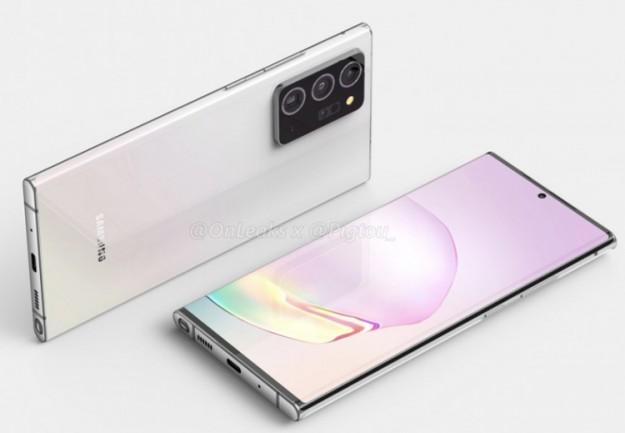 Смартфон Samsung Galaxy Note 20 Plus получит 50-кратный зум