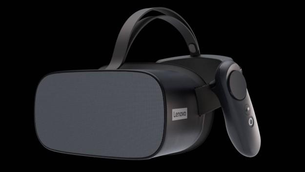 Lenovo представила гарнитуру виртуальной реальности Mirage VR S3 на платформе ThinkReality