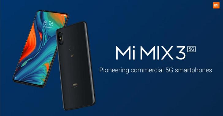 Xiaomi Mi MIX 3G получит MIUI 12 с Android 10