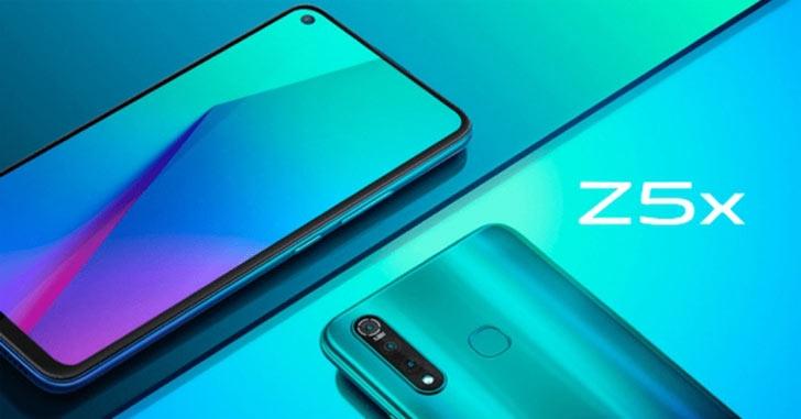vivo Z5x представлен официально