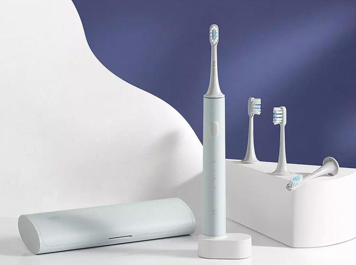 Анонсирована зубная щётка Xiaomi Mijia T500C Sonic Electric Toothbrush