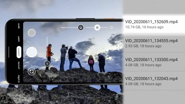 Google отменила давно устаревшее ограничение Android. 4 ГБ больше не предел при съёмке видео